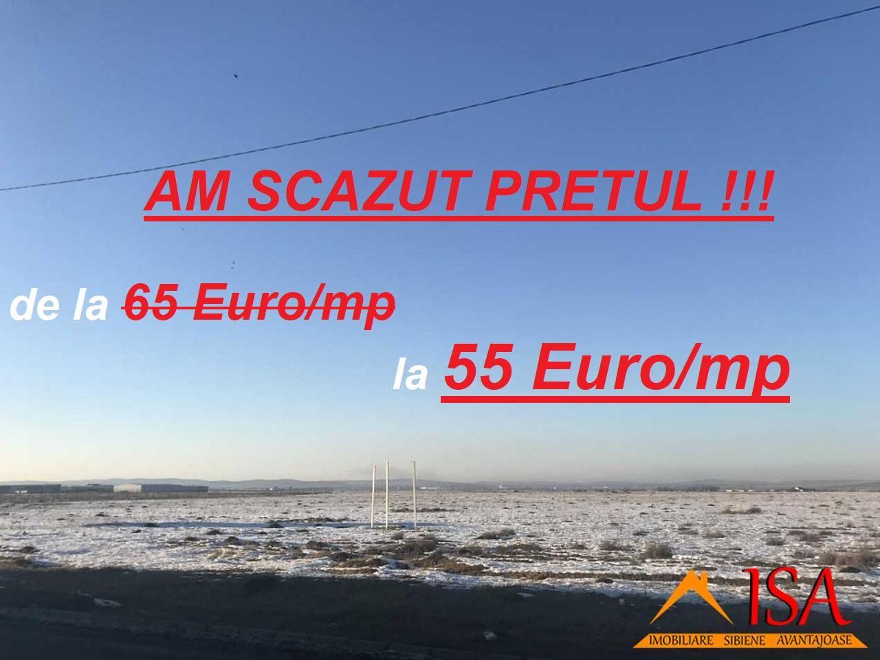 Teren intravilan 28.765 mp – ZONA INDUSTRIALA VEST !